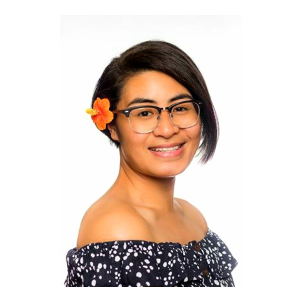 From the villages of Leusoalii, Laulii, Nofoalii, and Vaisala in Samoa, Natalia is an economist who loves reading, dogs, chocolate, and sapasui (her dad makes the best!).